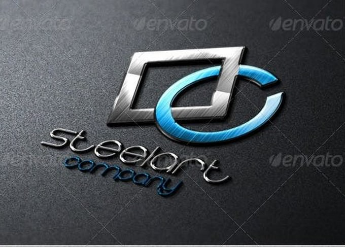 Steel Art Logo Template