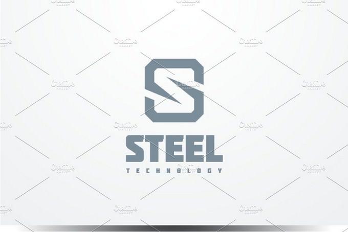 Steel - Letter S Logo