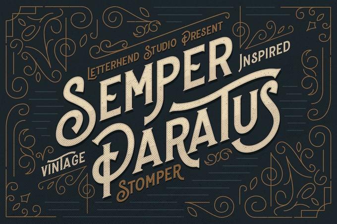 Stopmer - A Vintage Display Font