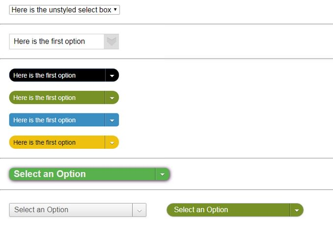 Style a Select Box Using Only CSS