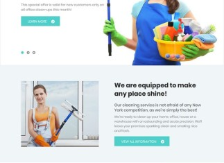 SuperClean - Cleaning & Maintenance Service WordPress Theme