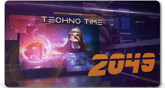 Techno Time 2049 Media Opener