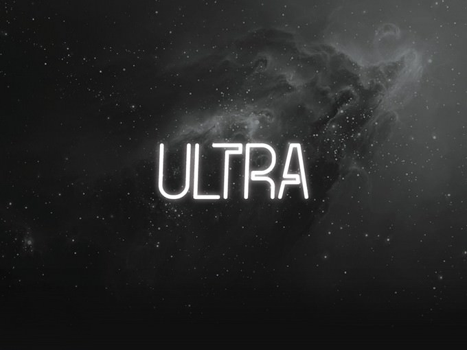The FREE Ultra Font