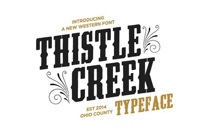 Thistle Creek Font