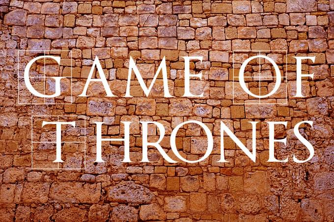 TrajanusBricks (Game Of Thrones) Font