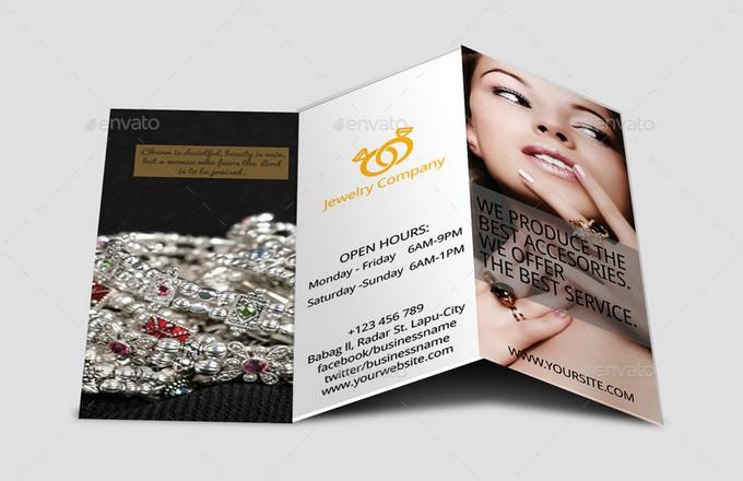 Tri-Fold Jewelry Brochure