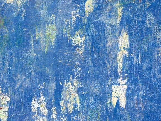 Vivid Blue Grungy Texture