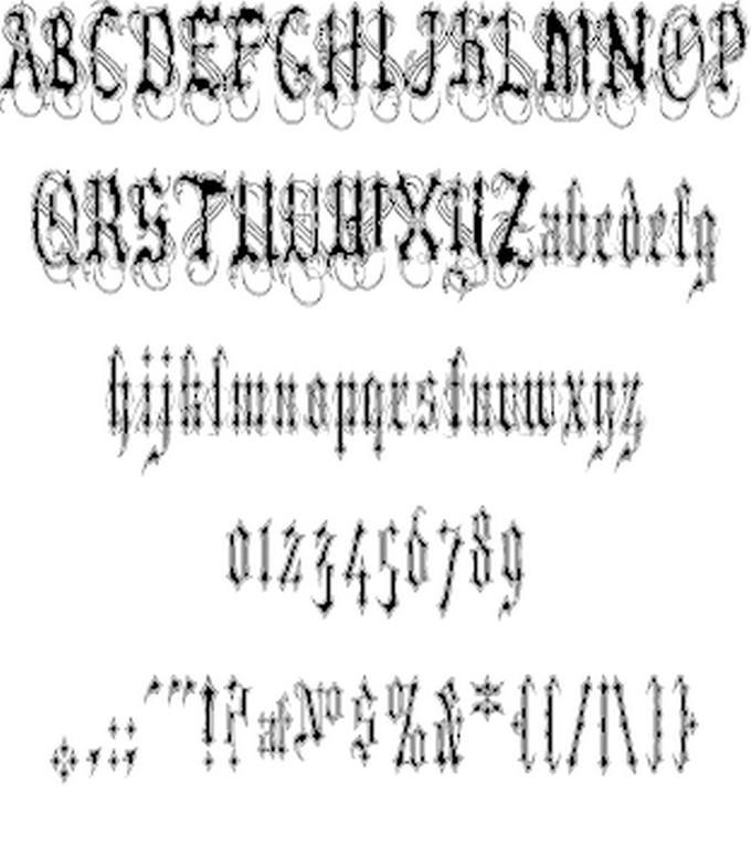 VladTepesII Font
