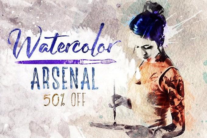 Watercolor Arsenal
