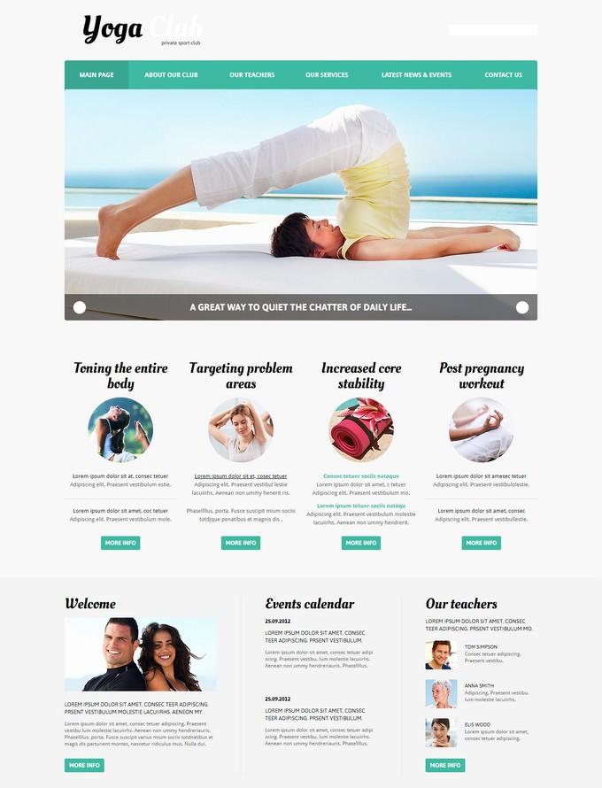 Yoga Practice Joomla Template