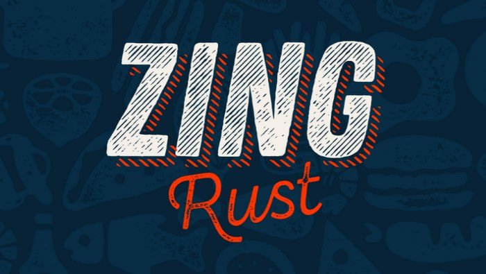 Zing Rust Font