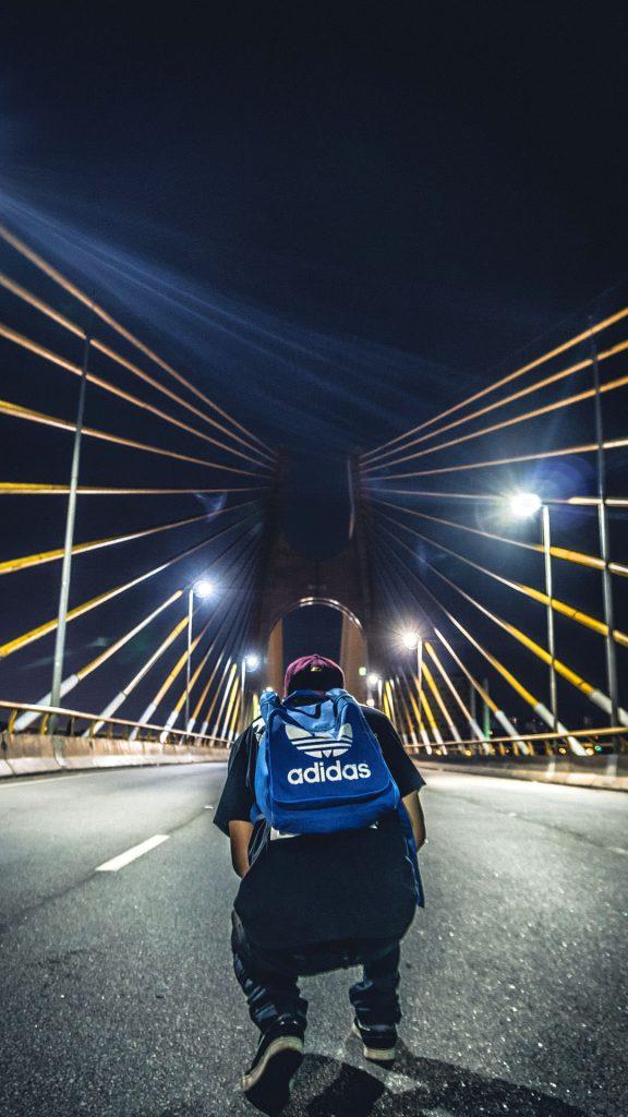 Bridge, Adidas Bag iPhone Wallpapers-00018-1080 × 1920