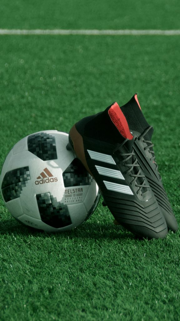 Football With Adidas Shoe iPhone Wallpapers-00021-1080 × 1920