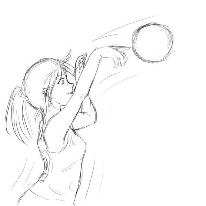 basketball Drawing # 5
