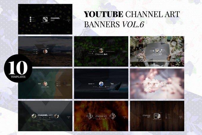 Youtube Channel Art Banners