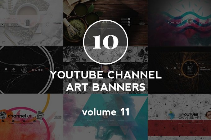 10 Youtube Channel Art Banners