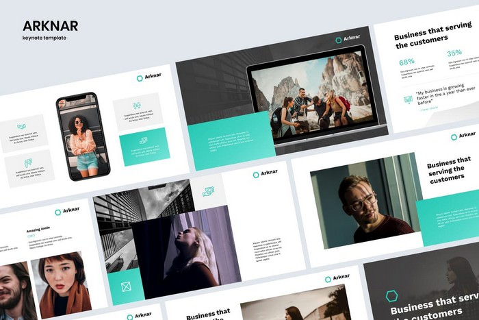 ARKNAR - Clean & Professional Keynote Template