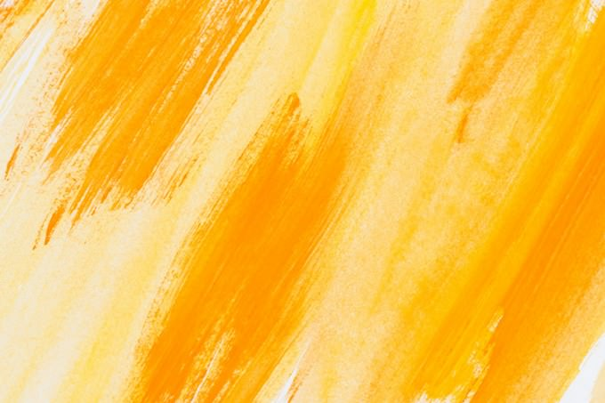 Abstract Painted Yellow Background