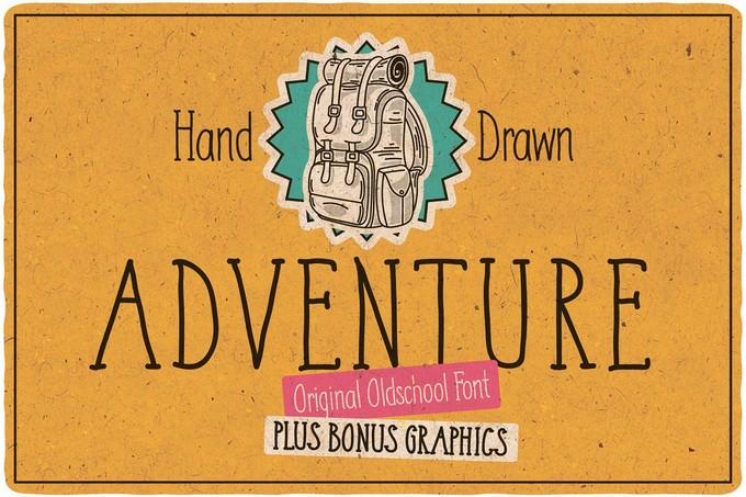 Adventure Typeface