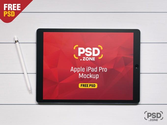 Apple iPad Pro Mockup Free
