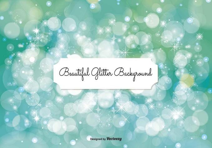 Beautiful Bokeh Glitter Background