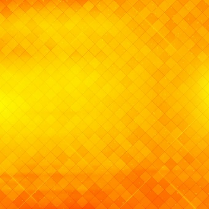 Beautiful Geometric Yellow Background