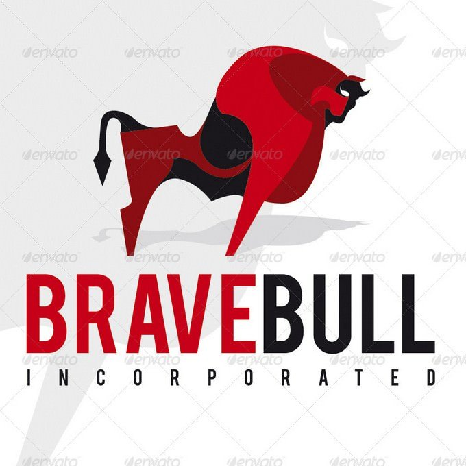 Brave Bull Logo