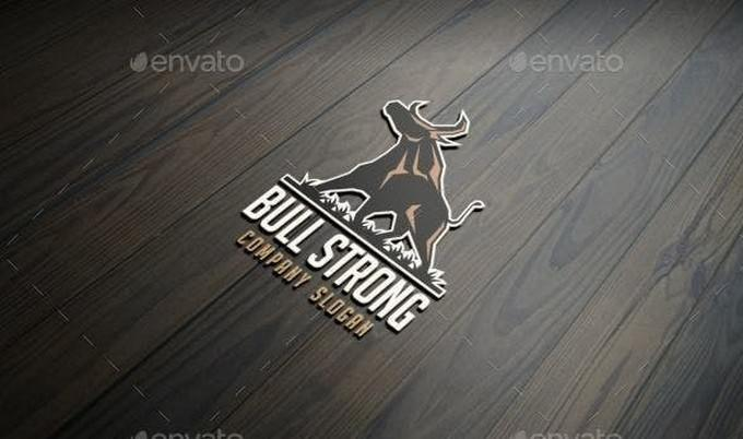 Strong Company Logo Template