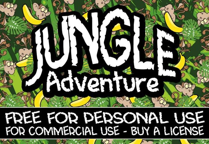 Adventure CF Jungle Font