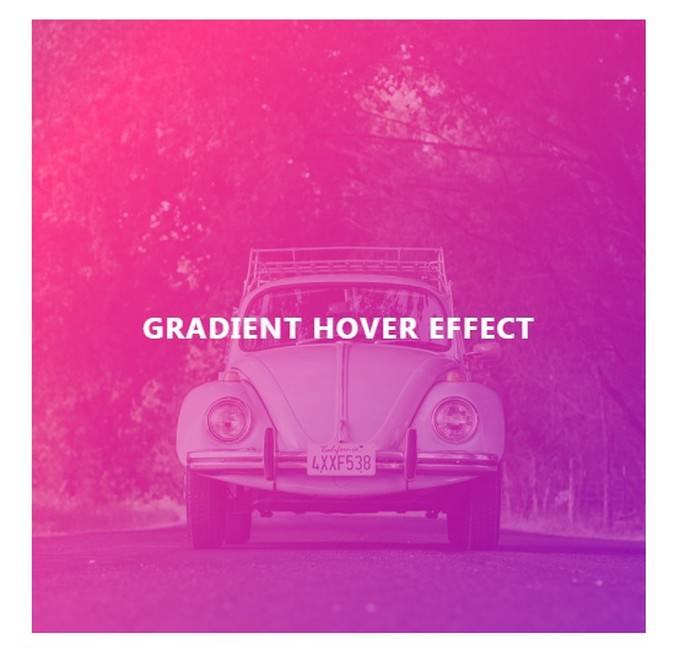 CSS Gradient Hover Effect