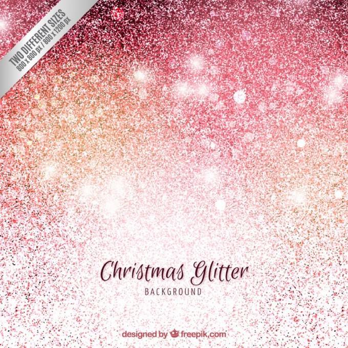 Christmas Background Glitter Style