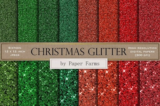 Christmas Glitter Backgrounds