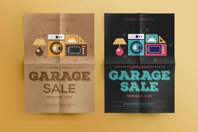 Come & Sale Garage Sale Flyer