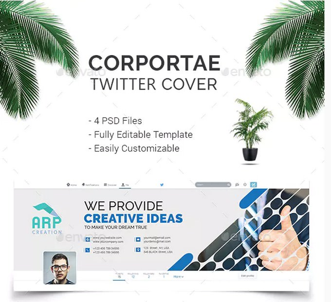 Corporate Twitter Cover