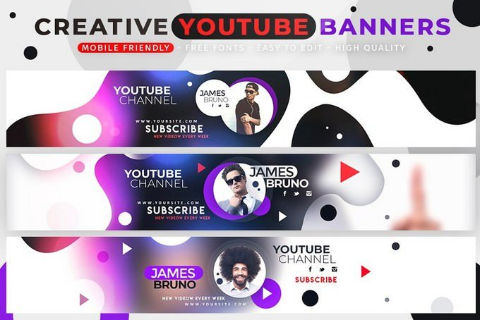 20+ Amazing YouTube Mockups Templates For Brand Promotion - Templatefor