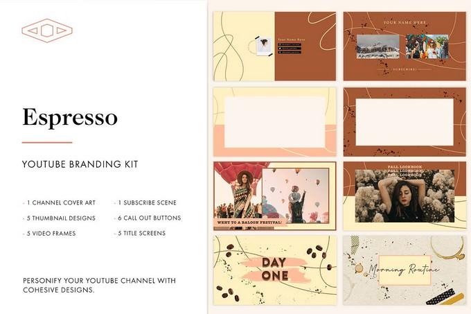 Espresso Youtube Branding Kit