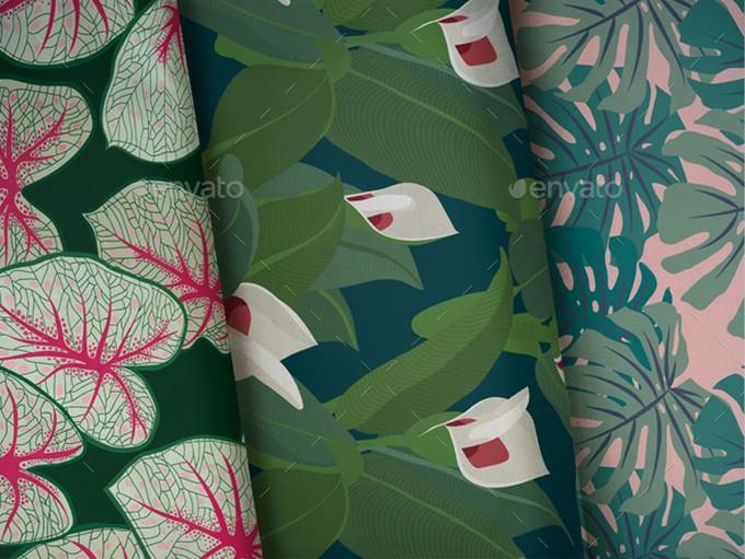 Fabric Pattern Mockup