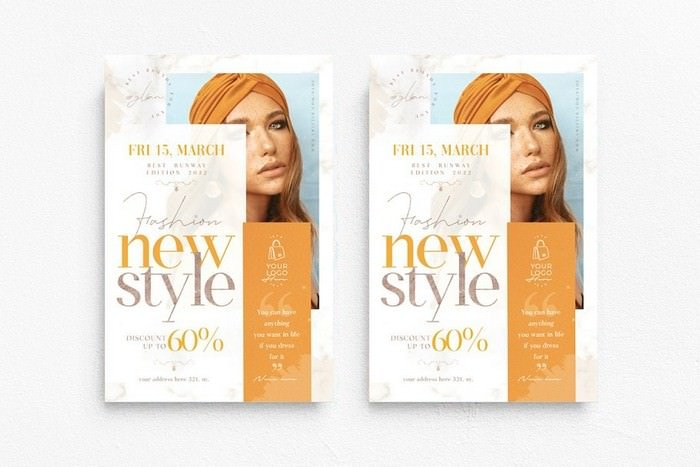 Fashion New Style Flyer Template