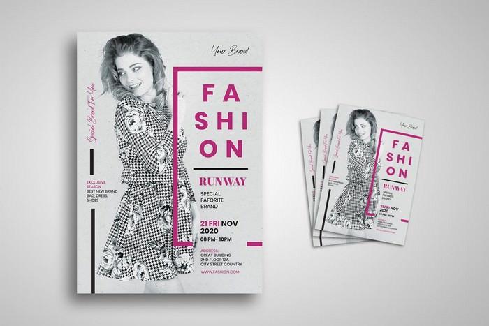 Fashion Runway Flyer