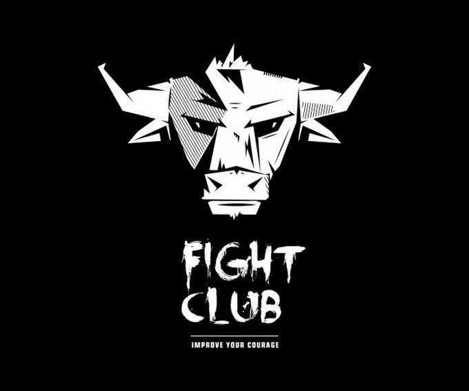 Fight Club Bull Logo