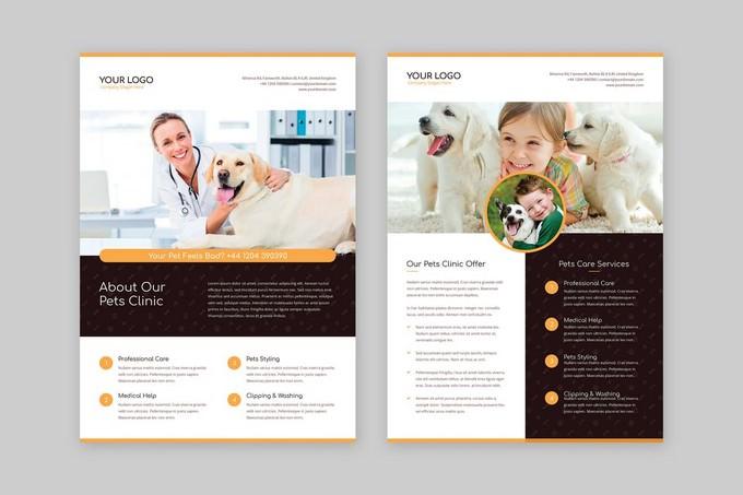 Flyer Pets Care