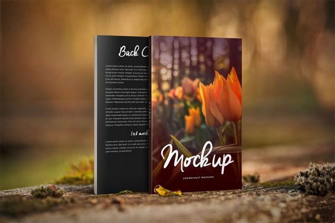 Front & Back Book Mockup