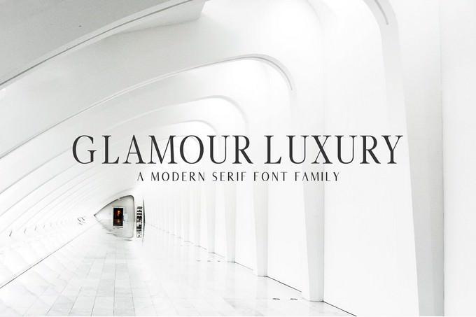 Glamour Luxury Serif Font