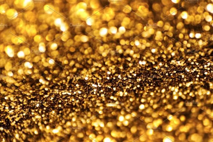 Gold Glitter Background # 2