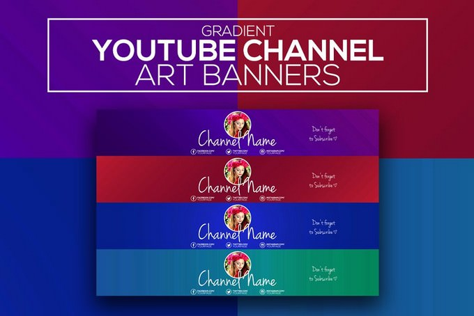 Gradient Banners