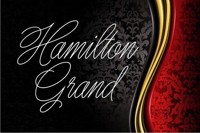 Hamilton Grand Font
