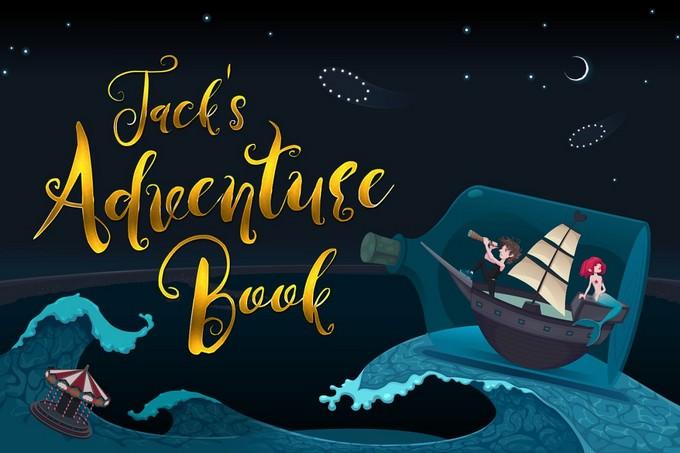 Jack's Adventure Book Font