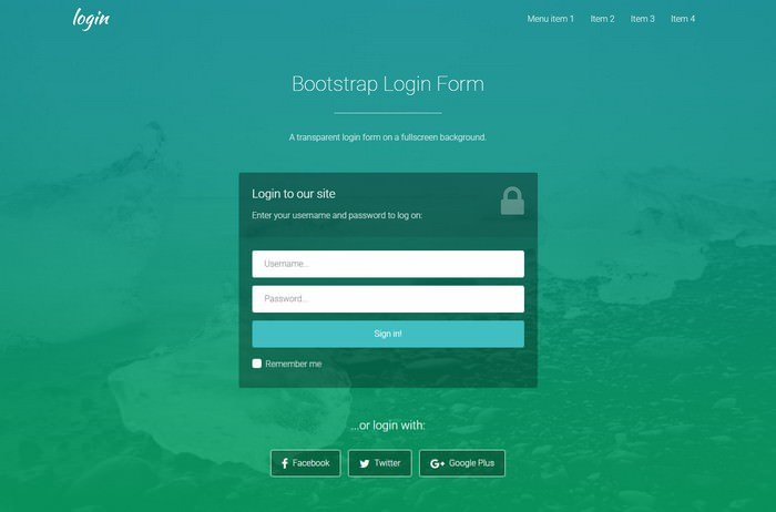 Login Forms 3 Free Responsive Template