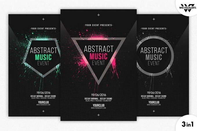 MINIMAL ABSTRACT Flyer Template