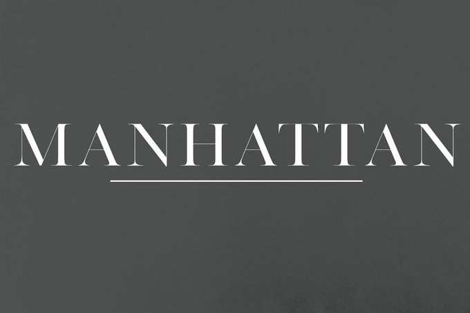 Manhattan A High Class Serif